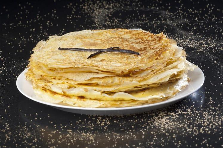 recette de cr 234 pes sans grumeaux parfum 233 es au sucre vanill 233