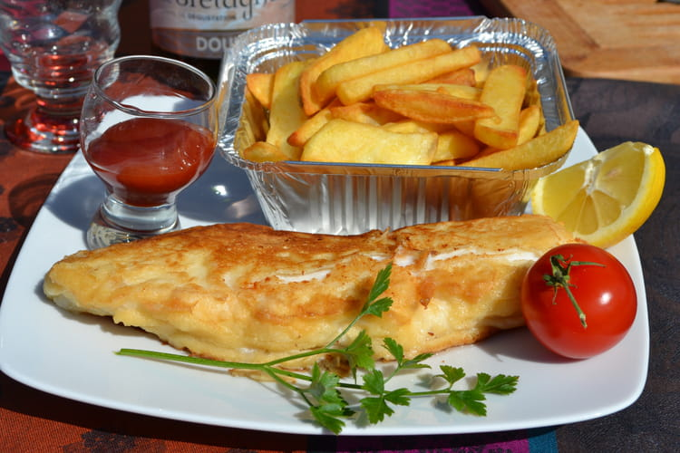 Le fish and chips de Broadchurch