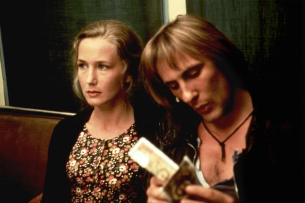 """Dans """"Les Valseuses"""" avec Gérard Depardieu"""
