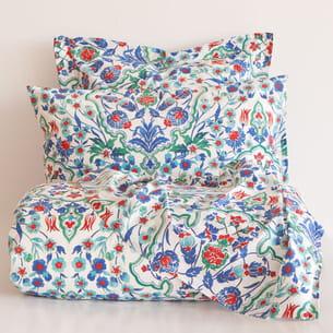 linge de lit imprimé floral de zara home