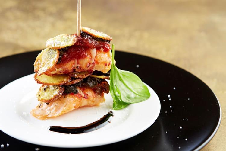 Cristalline de Ratte du Touquet & homard aux deux vinaigrettes