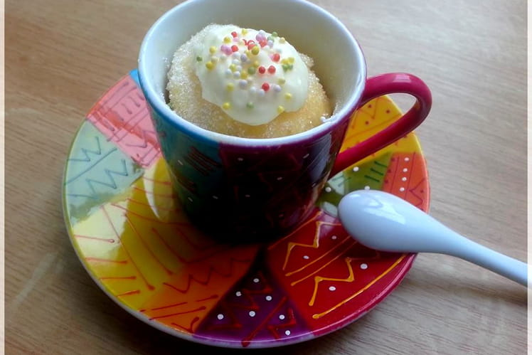 Mugcake à la vanille