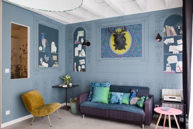 des trompe l il. Black Bedroom Furniture Sets. Home Design Ideas