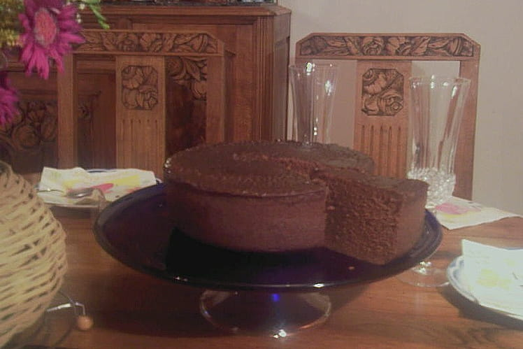 Gâteau moelleux au chocolat express