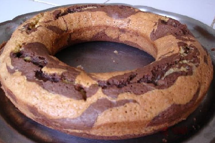 Cake marbré ultra moelleux : la meilleure recette
