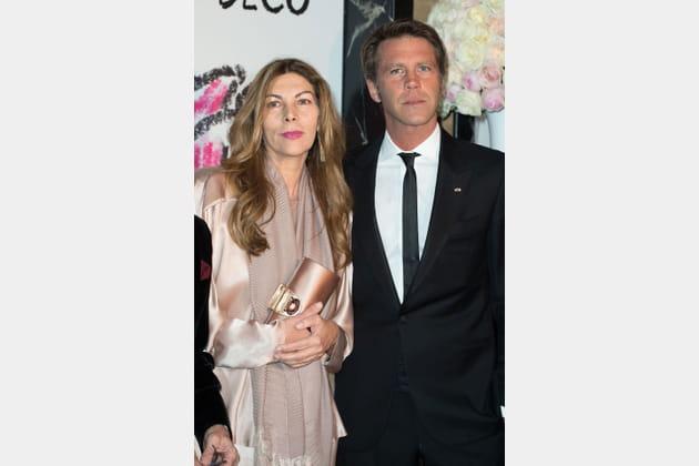 Prince Emmanuel-Philibert de Savoie et Rita Caltagirone