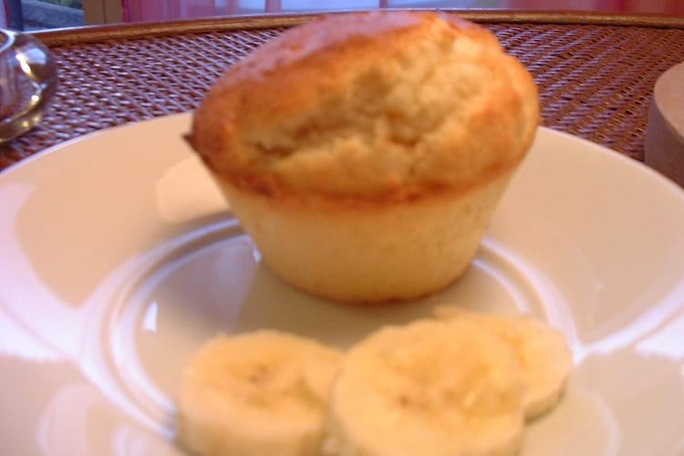 Muffins coco au coeur fondant de confiture