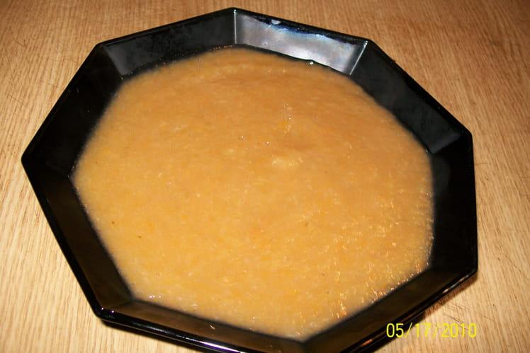 Soupe de chicons (endives)