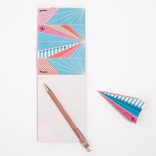 bloc-notes origami par delfonics