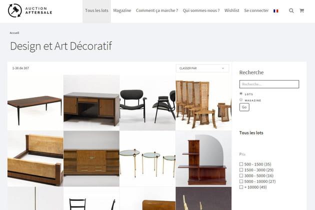 Auction aftersale