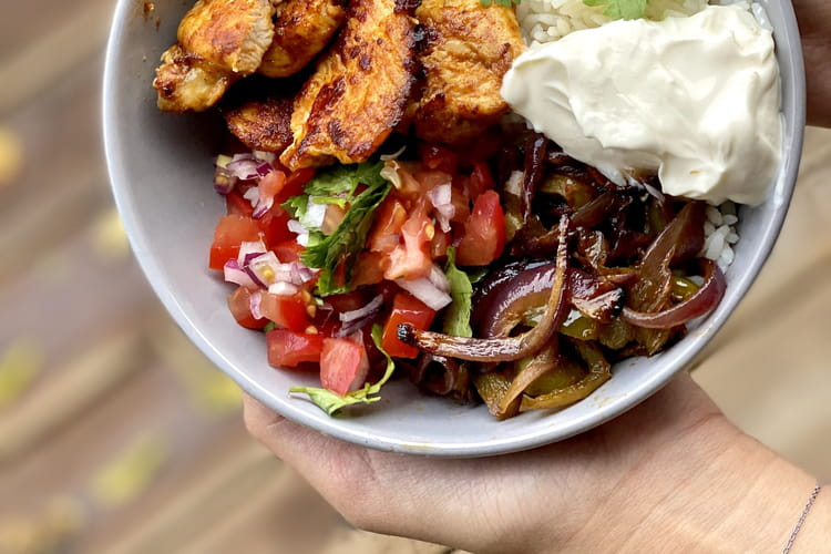Burrito bowl à la mexicaine