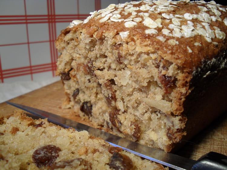 Cake Flocons D Avoine Et Lait D Amande Banane