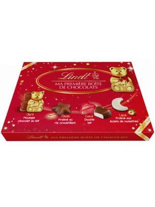 ma première boîte de chocolats de lindt