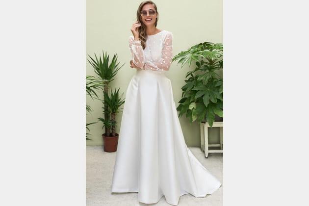 Robe de mariée Lanzarote, Marie Laporte