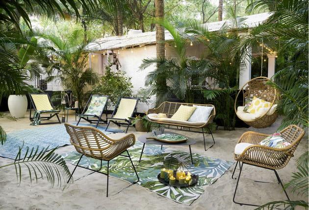 Salon de jardin Vanuatu Maisons du Monde