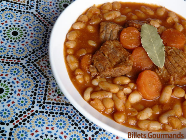 Cuisine Marocain Simple : Recette de loubia marocaine la facile