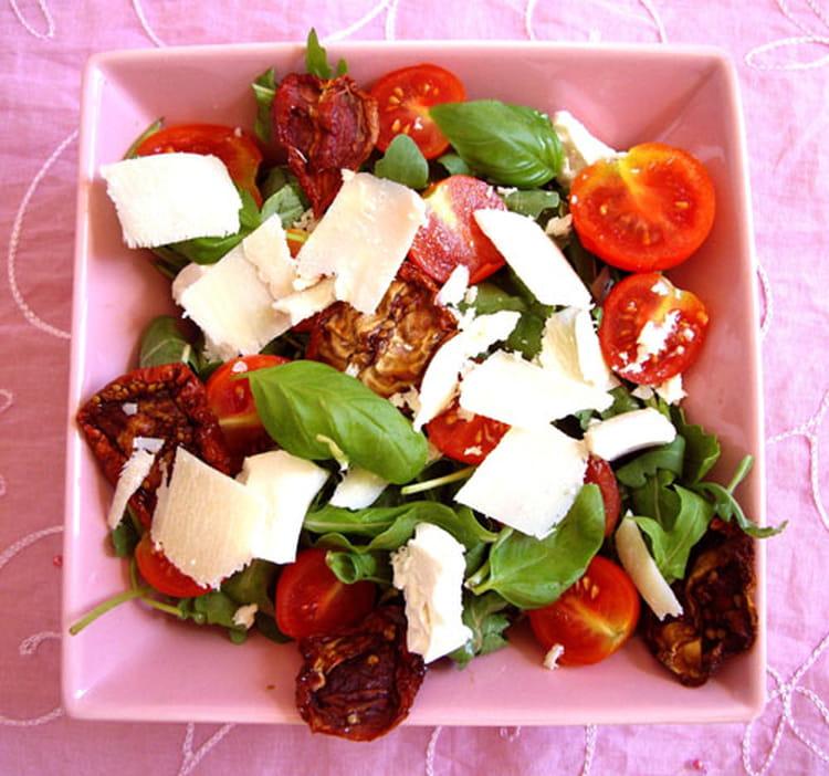 recette de salade fra cheur l 39 italienne la recette facile. Black Bedroom Furniture Sets. Home Design Ideas