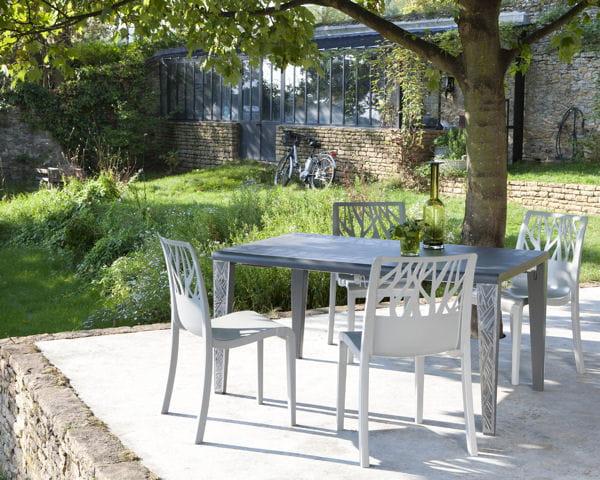 Table et chaises Végétal de Grosfillex