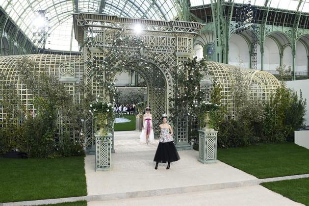 Le jardin haute couture