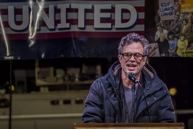 Mark Ruffalo, acteur et militant engagé