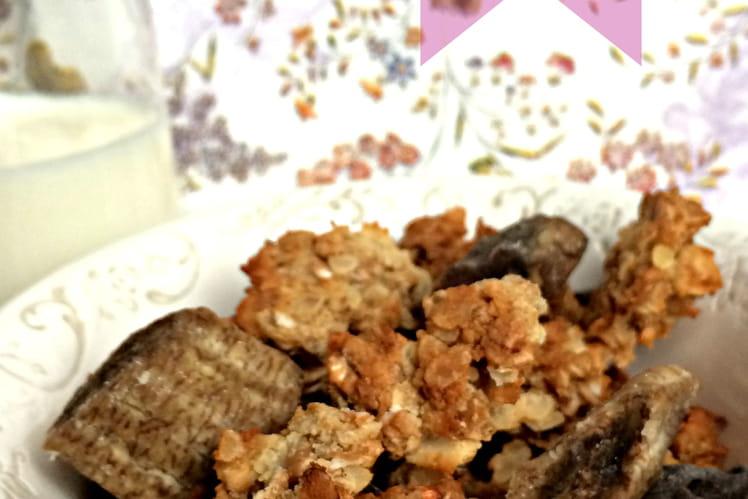 Granola gourmand sans gluten (sans GLO: gluten, lactose, oeuf)
