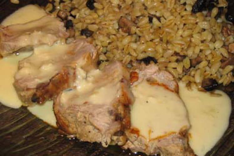 Filet mignon au Brie de Meaux
