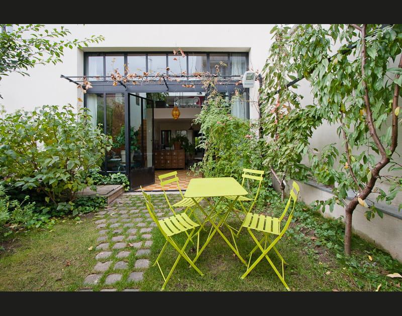 Un jardin plein sud qui fait respirer toute la maison