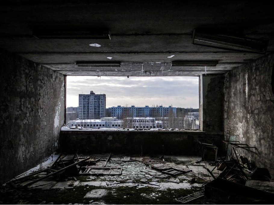 Tchernobyl : 30 ans après, poussière et misère