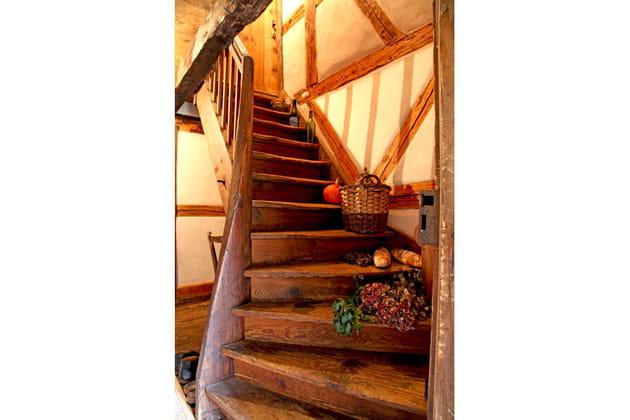Escalier animé