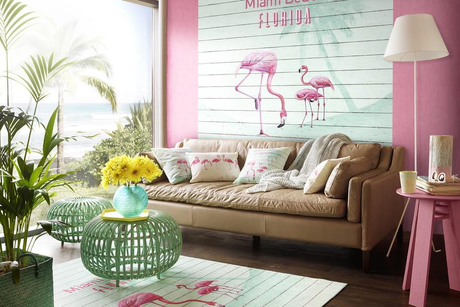 Pour ou contre... l'imprimé flamingo?