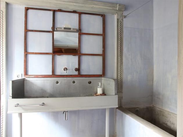 Salle de bains chinée