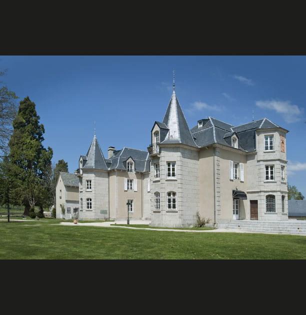 Le château de l'extérieur
