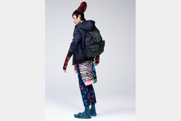 Kenzo X H&M, look 30