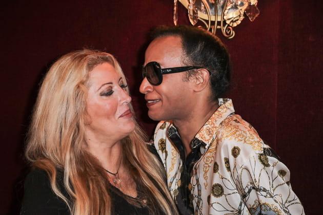 Loana et Vincent Mc Doom prêts à s'embrasser...