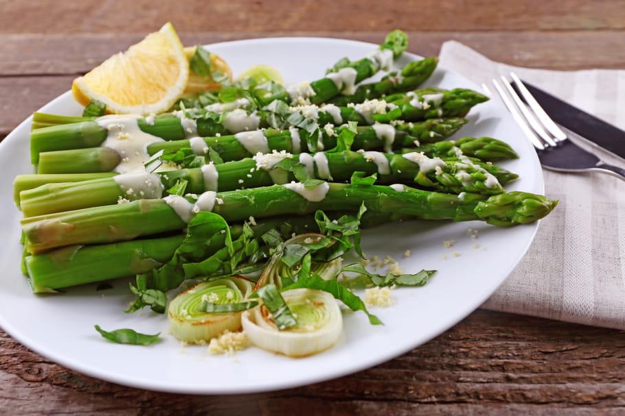 Comment conserver des asperges bien vertes après cuisson?