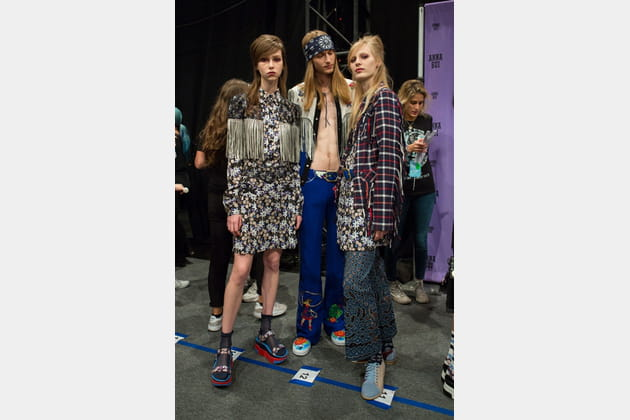 Anna Sui (Backstage) - photo 16