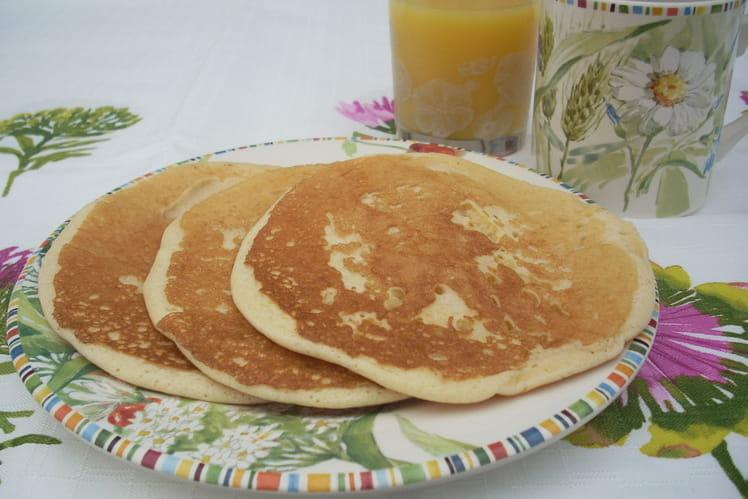 Pancakes à base de Maïzena
