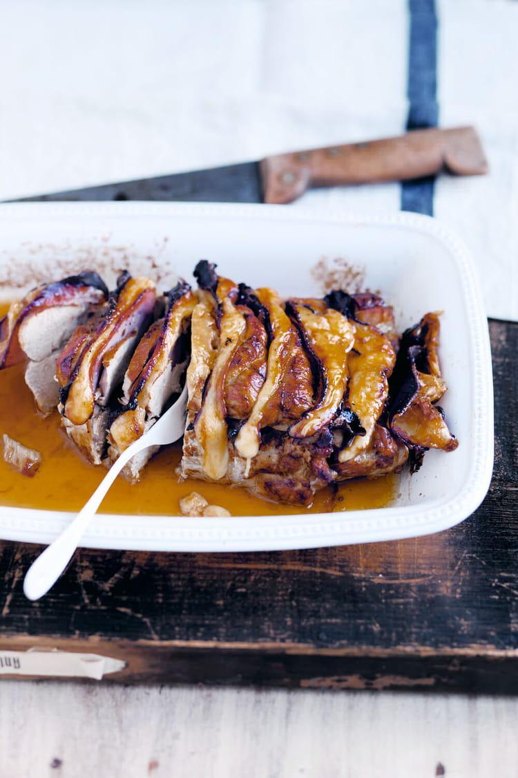 Recette de Rôti de veau Orloff : la recette facile