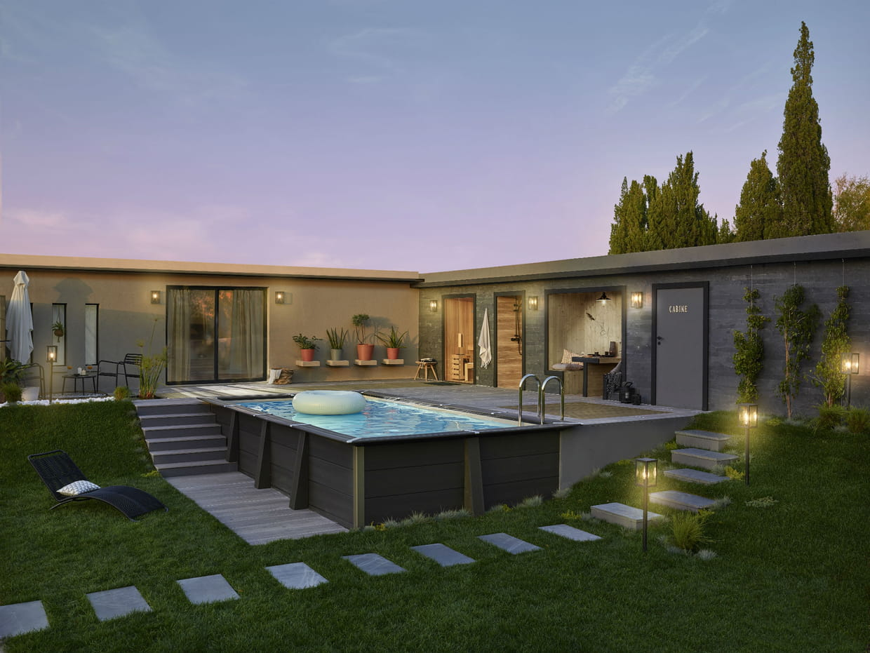 un clairage ext rieur leroy merlin. Black Bedroom Furniture Sets. Home Design Ideas