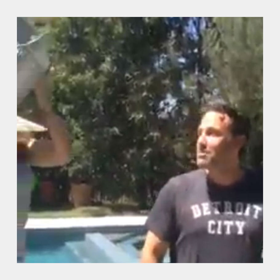 Ben Affleck Ice Bucket Challenge