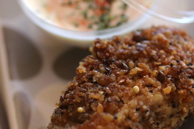 Nuggets de poulet sauce pimentée