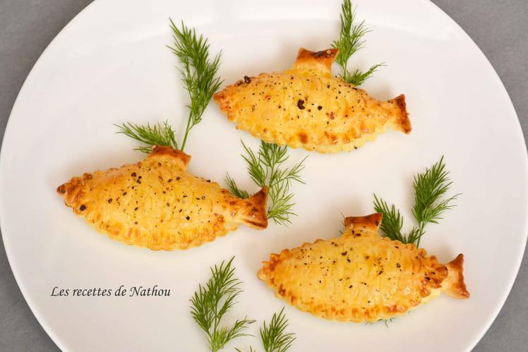 Feuilletés au saumon fumé et fromage frais aux 5 baies