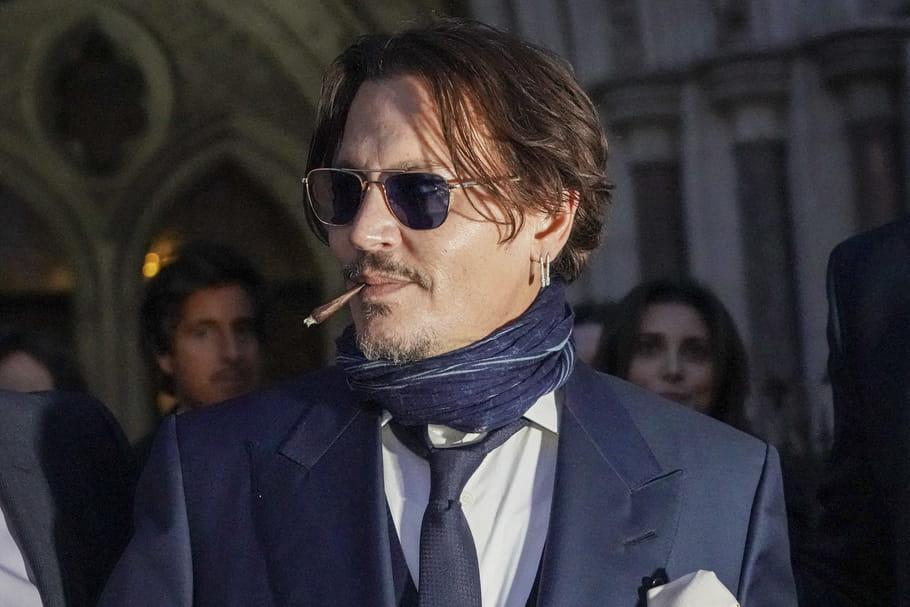 Johnny Depp épinglé pour consommation de drogue