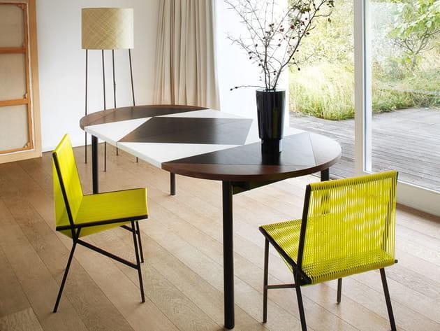 chaise tress e de gallery s bensimon pour la redoute. Black Bedroom Furniture Sets. Home Design Ideas