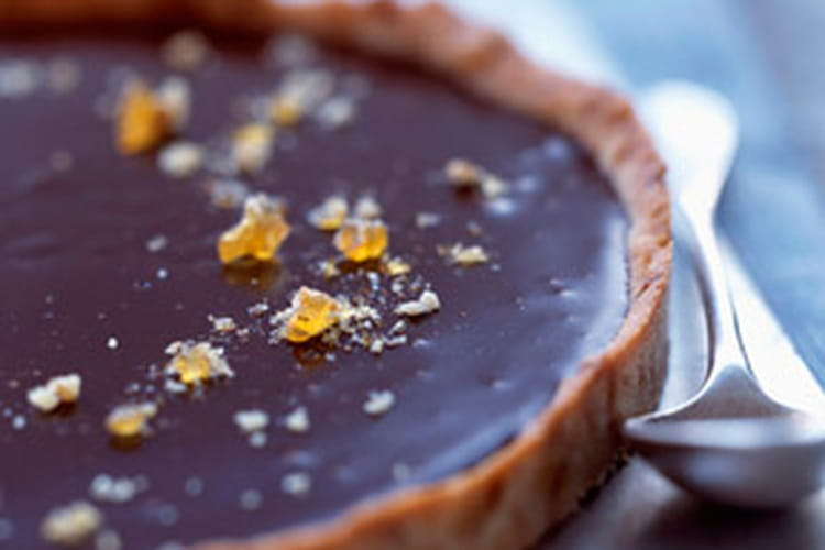 Tarte exquise au chocolat