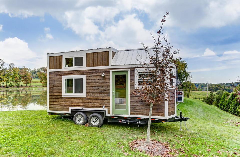 En images, des mini-maisons gonflées d'idées