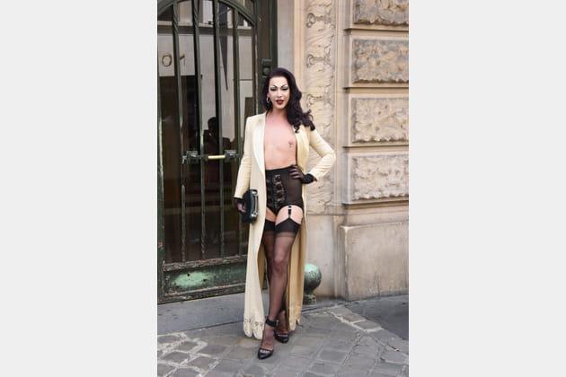 Violet Chachki chez Alexis Mabille