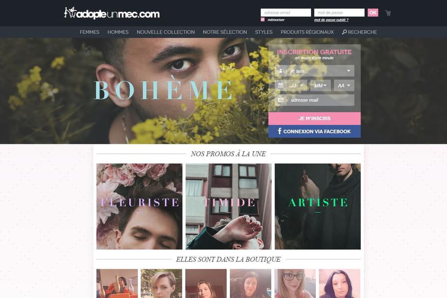 """AdopteUnMec: avec ce site de rencontres qui """"consommerez-vous"""" ce soir?"""