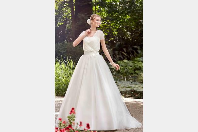 Robe de mariée Ilda de Point Mariage