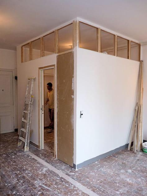 La chambre en chantier
